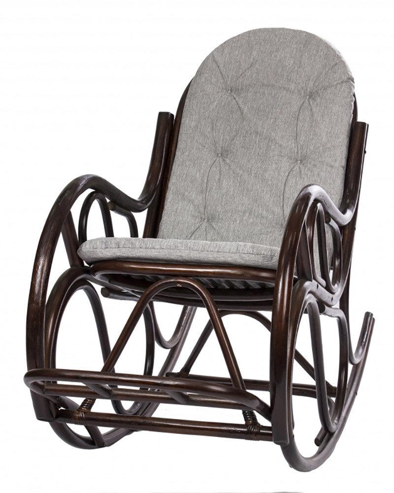Кресло-качалка с подножкой (Орех)