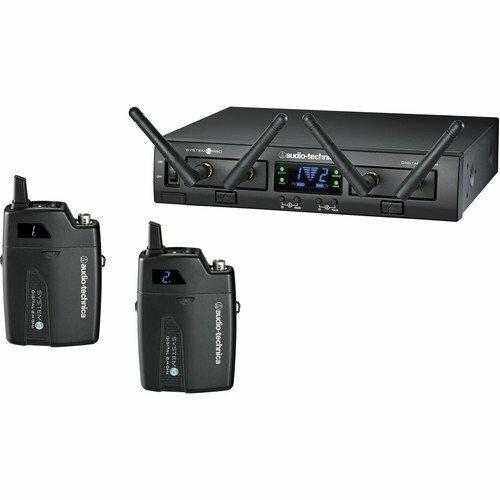 AUDIO-TECHNICA / ATW1311/радиосистема, 8 каналов 2.4 MHz с двумя поясными передатчиками