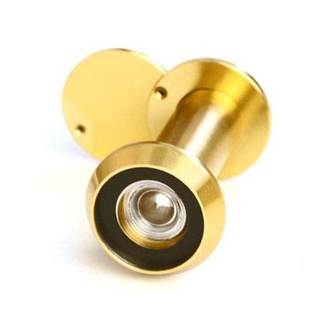 глазок дверной 50-90 мм золото