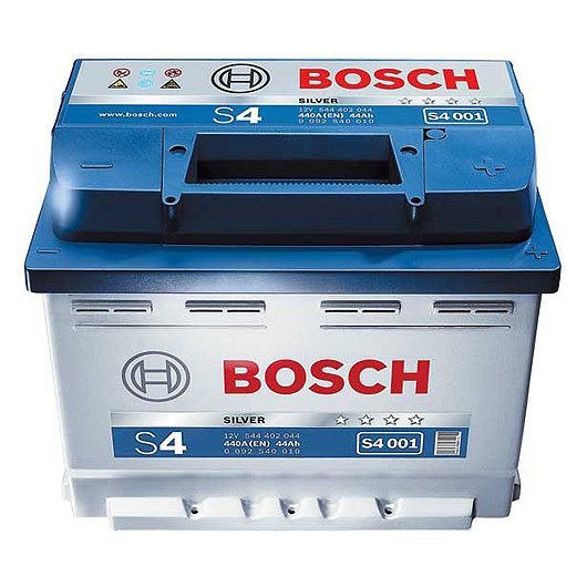 Аккумулятор 60 а/ч, европейская полярность BOSCH 560 409 054 S4 (004) BOSCH-560409-S4