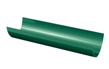 Пластиковые водостоки Verat 125/82 Зеленый Желоб водосточный 3000мм