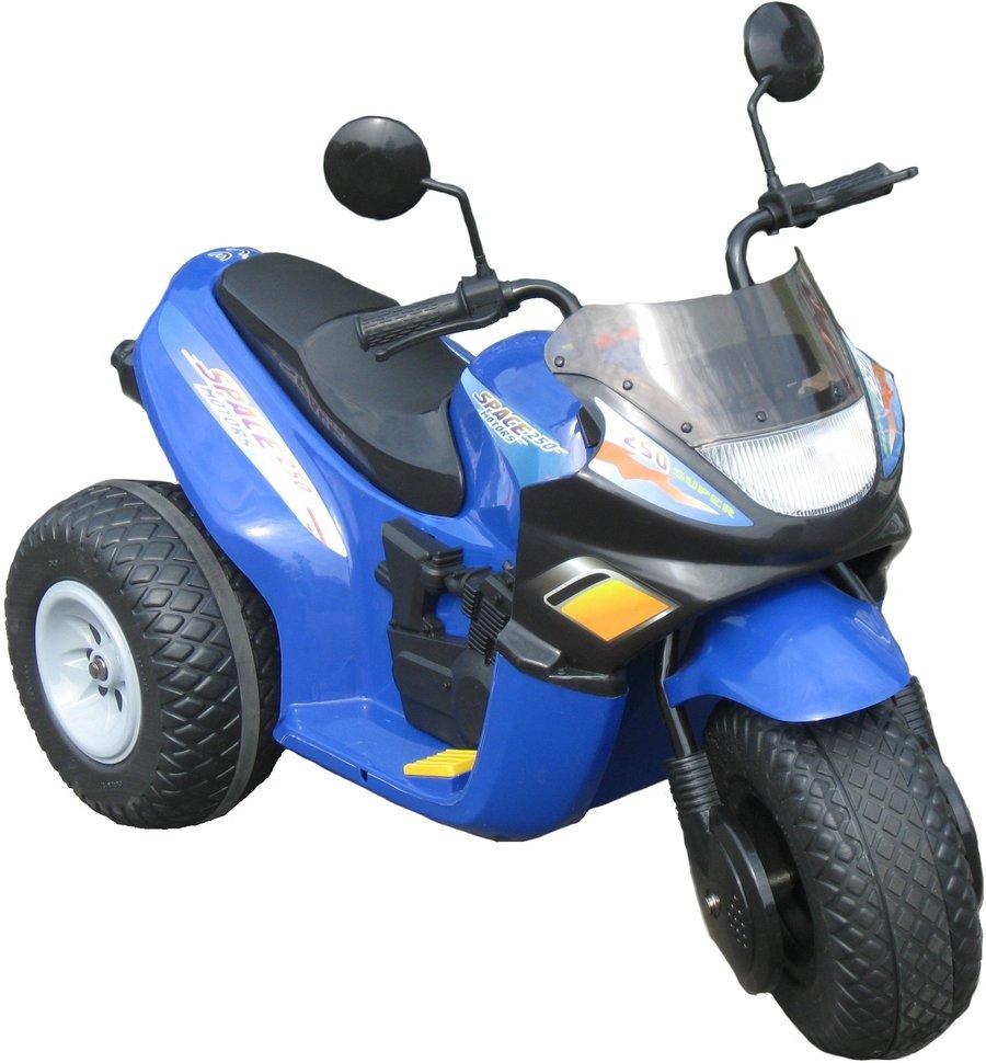 Электромобиль CHIEN TI Детский электромотоцикл CT-770 Super Space синий