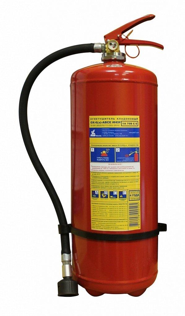 огнетушитель Пожтехника ОХ-6