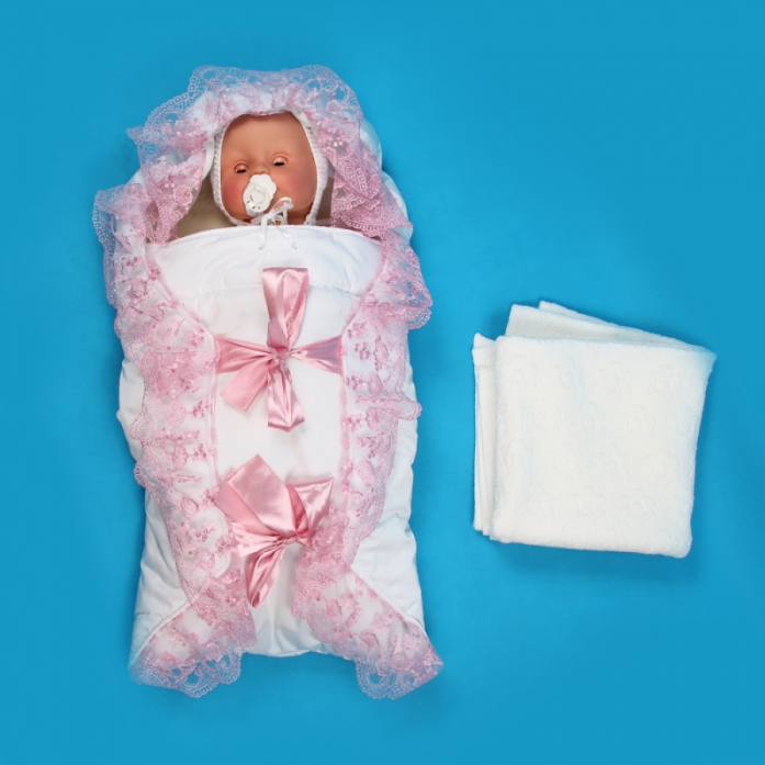 Фото конвертов на выписку для новорожденных зимние
