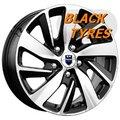Диск колесный K&K КС741 6.5x16/5x114.3 D67.1 ET50 Алмаз черный - фото 1