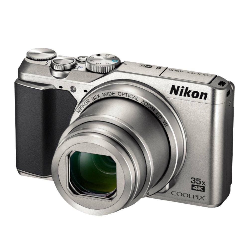 Компактный цифровой фотоаппарат Nikon Coolpix A900 серебристый