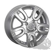 Колесный диск Replica HND100 6x15/4x100 D54.1 ET48 Silver - фото 1