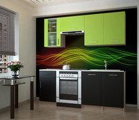 Кухонный гарнитур НКМ Тарнета 180 см Зеленый