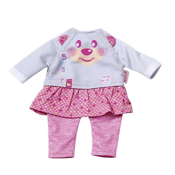 Одежда для куклы Zapf Creation my little Baby born 823-149 Бэби Борн Комплект одежды для дома, 32 см