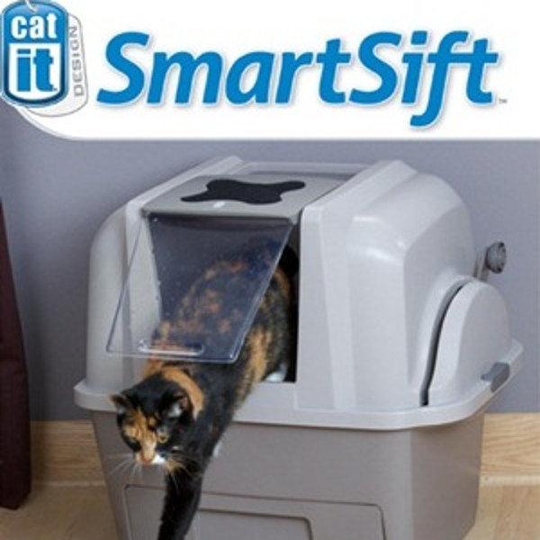 Hagen SmartSift Автоматический закрытый туалет для кошек