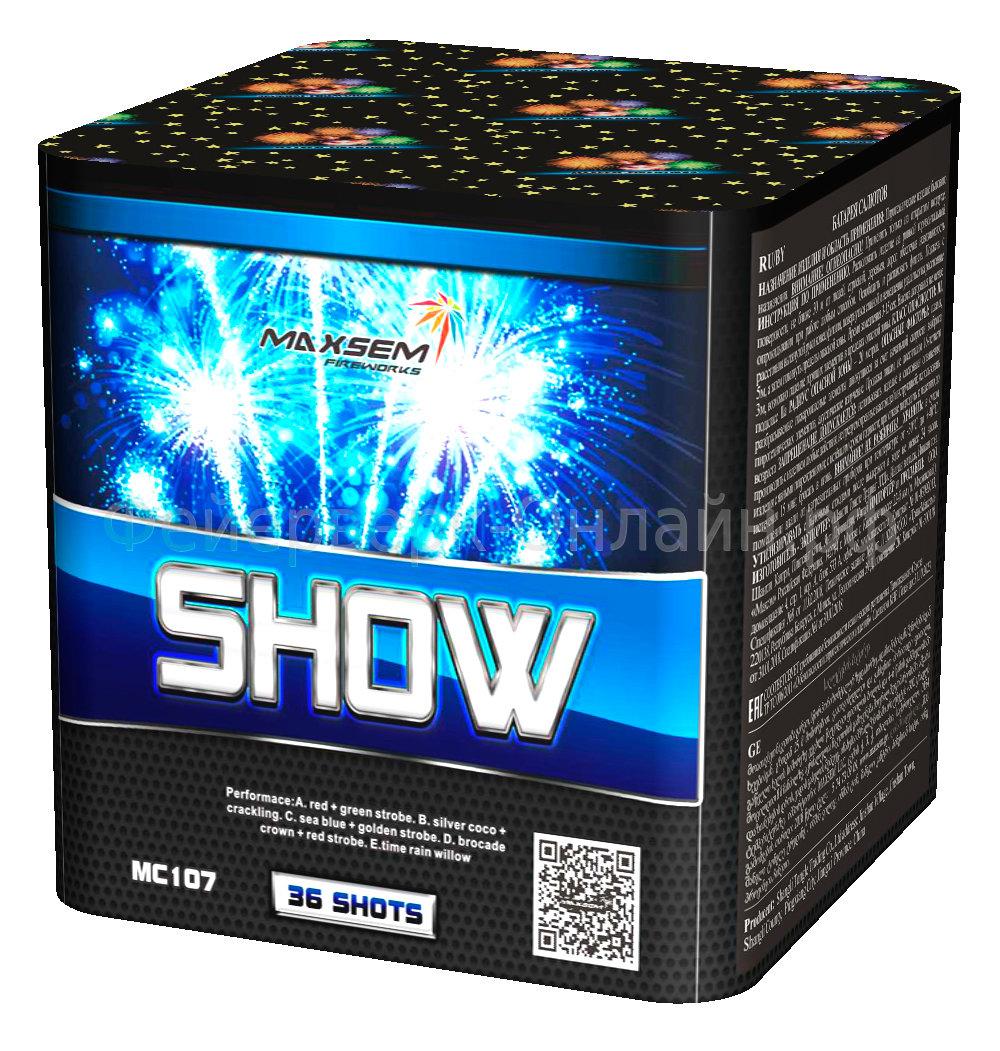 "Фейерверк SHOW (0,8""x36) MC107"
