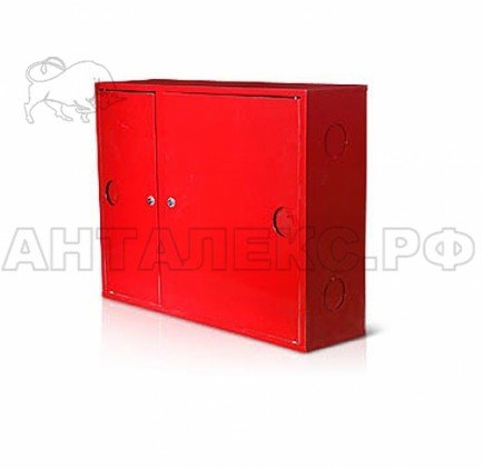 Шкаф пожарный металлический 315НЗК красный, правосторонний