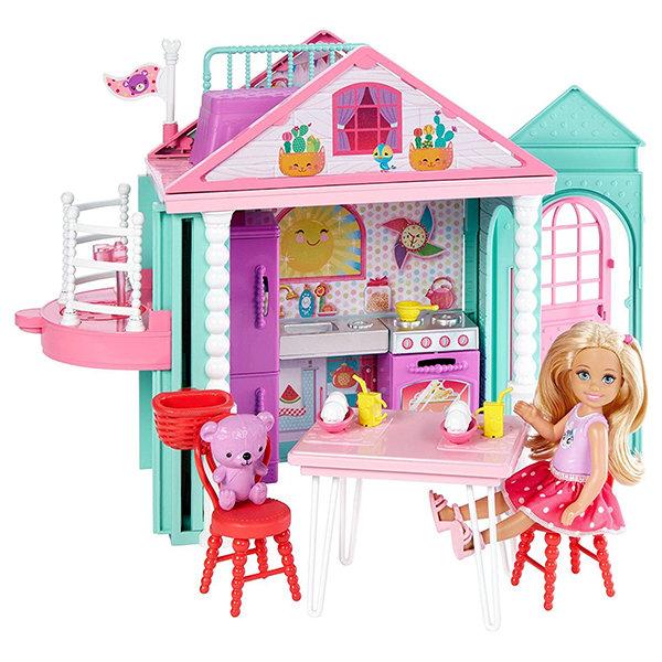 Кукольный домик Mattel Barbie DWJ50 Барби Домик Челси