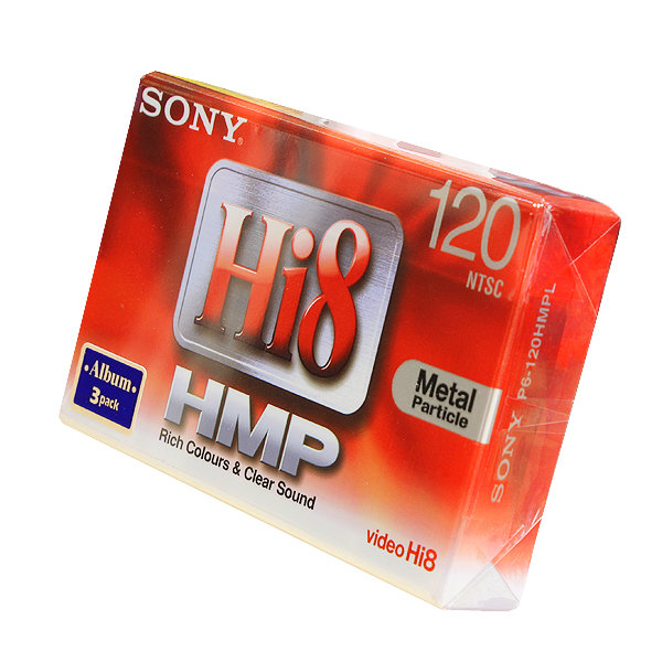 Видеокассета Sony 120min HI8mm P6-120HMPL