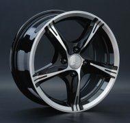 Диски LS Wheels 137 6,5x15 5x112 D73.1 ET45 цвет BKF (черный) - фото 1