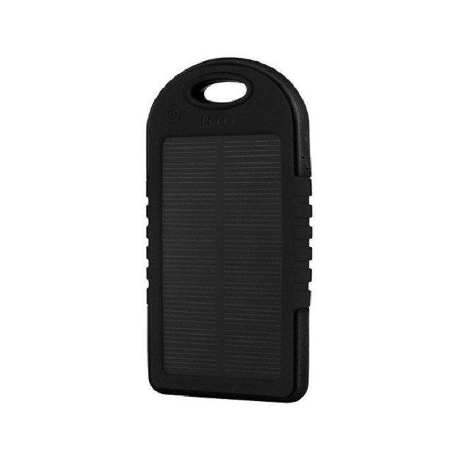 Power Bank на солнечных батареях Solar Charger 5000 МАН(черный)