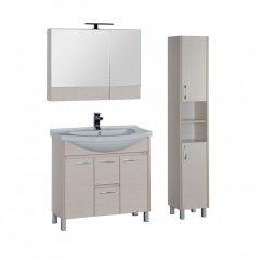 Комплект мебели Aquanet Донна 90 белый дуб (камерино)
