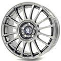 Колесные диски Sparco Wheels PISTA 8x17 5x114.3 ET45 D73.1 Серебристый тёмный (W2902150345) - фото 1