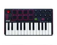 AKAI PRO MPK MINI MK2 USB миди клавиатура с уменьшенными клавишами, 25 клавиш,8 MPC пэдов, 8 ручек для микширования