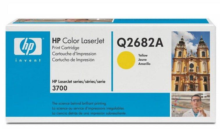 Картридж HP Q2682A (311A) yellow для HP CLJ 3700