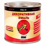 Эмаль декоративная золото Poli-R (Поли-Р) 160 Г