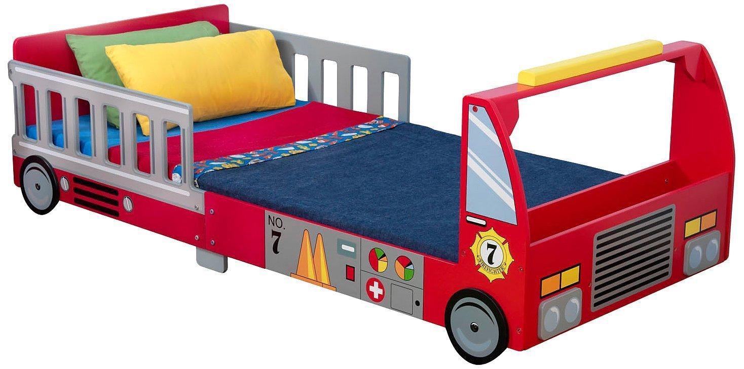 Детская кровать – Пожарная машина