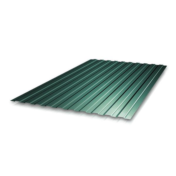 Железо профнастил С-8 1,7х1,2 м 0,4 мм зеленый
