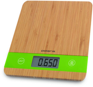 Кухонные весы POLARIS PKS 0545D Bamboo
