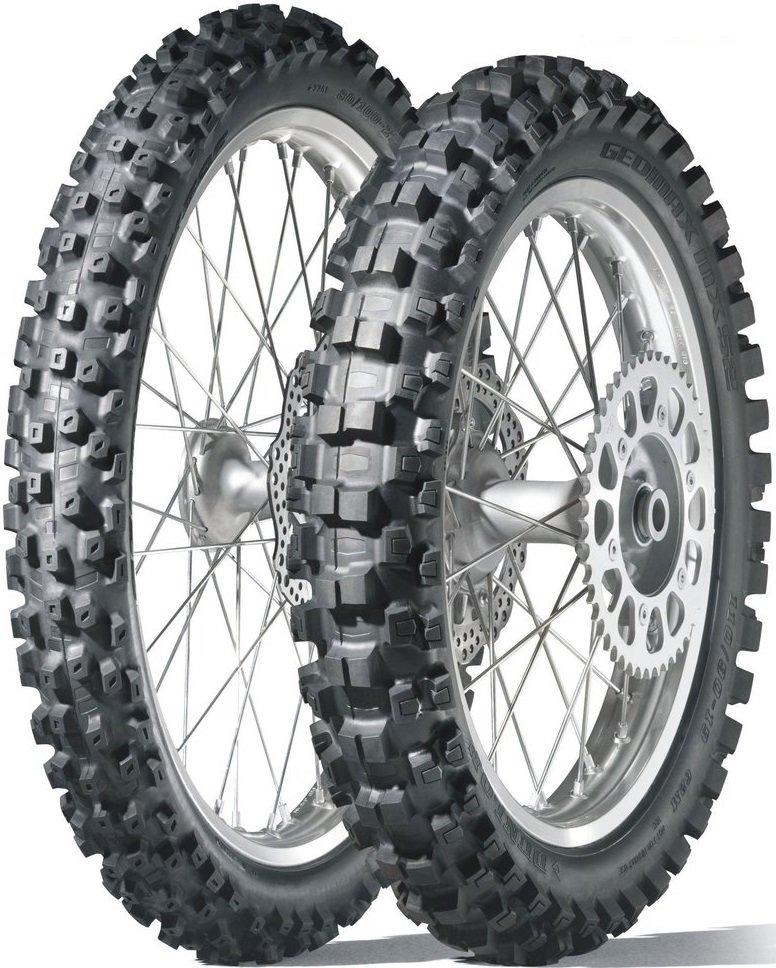 Dunlop Geomax MX52 120/80 R19 63M TT Rear