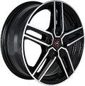 NZ Wheels F-12 7x17 5x114.3 ET 40 Dia 66.1 BKF - фото 1