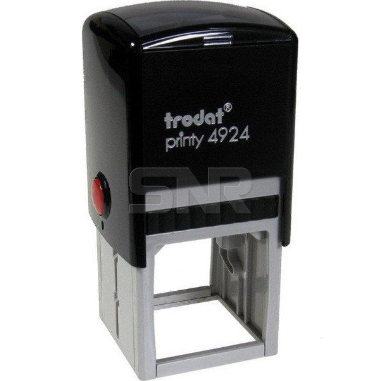Оснастка Trodat 4924, черный/серый