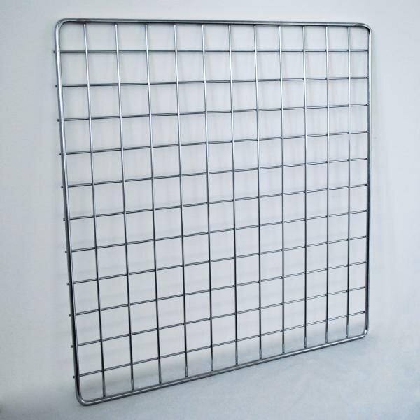 Торговая решетка (сетка) для оборудования магазина gp 1500х600мм, хром
