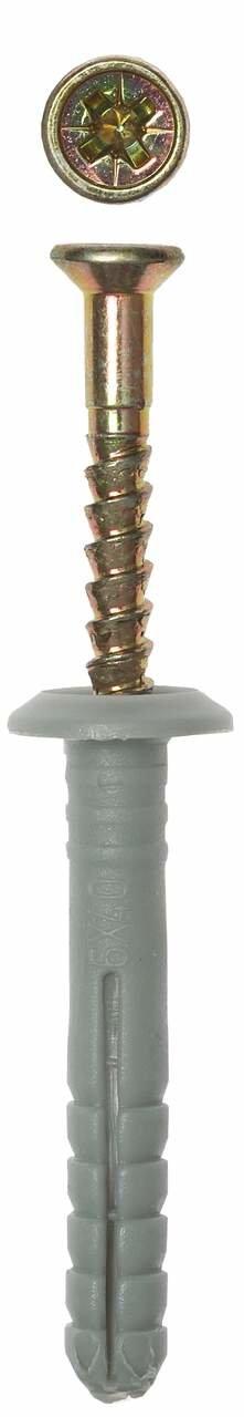 Дюбель-гвоздь грибовидный бортик 6x80 мм 950 шт Зубр 4-301350-06-080