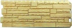 Фасадная панель (цокольный сайдинг) Альта-Профиль Скалистый камень Кавказ