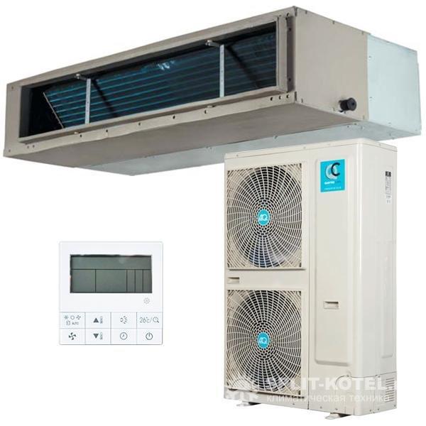 Канальный кондиционер Quattroclima QV-I48DC/QN-I48UD