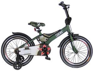 Velolider R16G 2-х колесный велосипед 16 RUSH SPORT зеленый