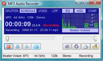 MP3 Audio Recorder 1.1