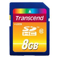 Карта памяти 8GB Transcend TS8GSDHC10 SDHC Class 10