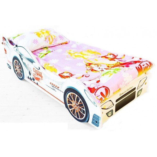 Кровать машина для девочки Бельмарко Безмятежность