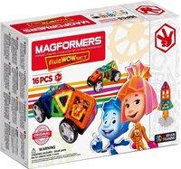 Магнитный конструктор Magformers 770001 Fixie Wow set (16 деталей)