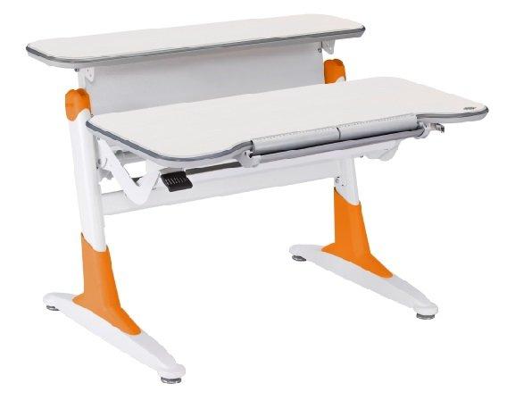 Растущая парта Comf-Pro Ergo-desk TH-330 Дуб беленый Оранжевый
