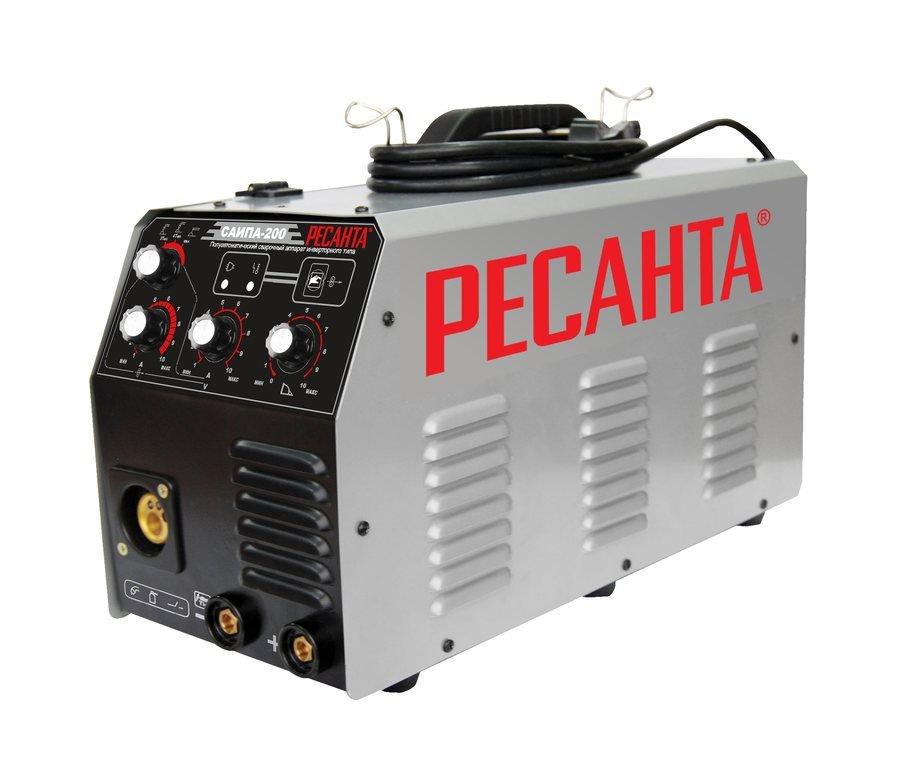 Сварочный аппарат Ресанта САИПА-200 с функцией ММА