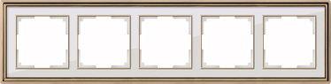 Рамка Werkel Palacio WL17-Frame-05 (золото/черный)