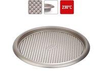 Форма для пирога/пиццы NADOBA RADA круглая, стальная, антипригарная, 34х2,5 см