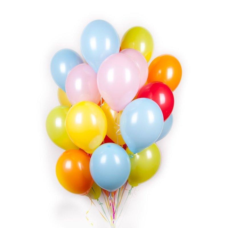 Воздушные шары ACTION! API0086/M Пастель 50шт
