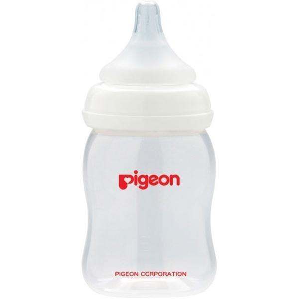 Бутылочка Pigeon «Peristaltic Plus» с силиконовой соской 160 мл с рождения