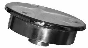 Заборник воды под пленку Xenozone с антивихревой крышкой (250 мм) (ВЗ.525.2)