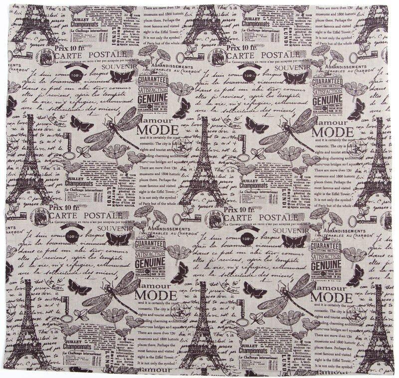 Льняная наволочка квадратная арт.166 (40х40)