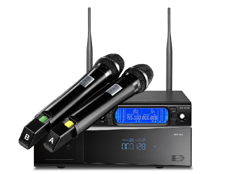 Караоке AST-Mini с микрофонами AST-922M