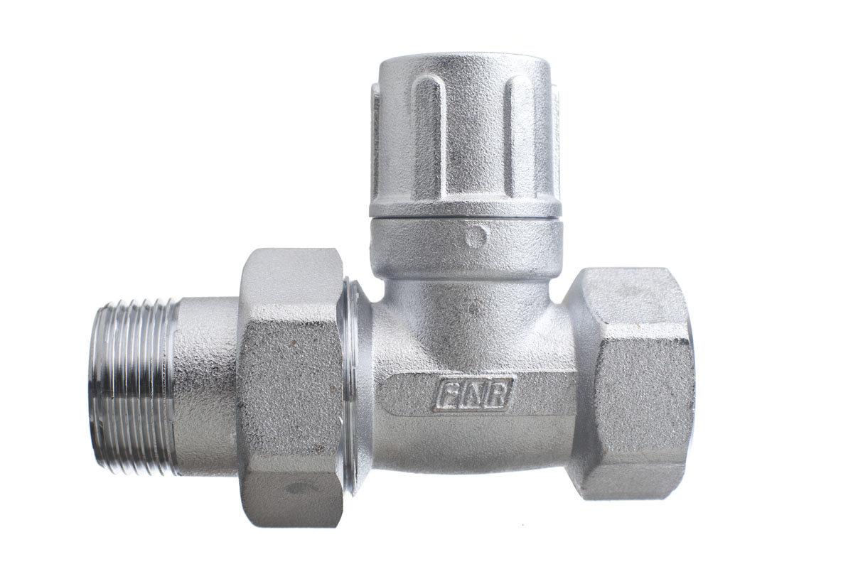 клапан для радиатора запорный прямой far